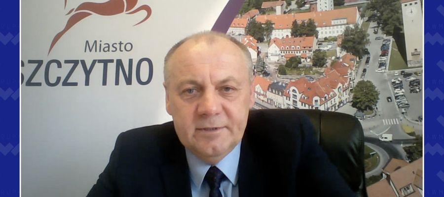 Pytajnik GO: rozmowa z Krzysztofem Mańkowskim burmistrzem Szczytna
