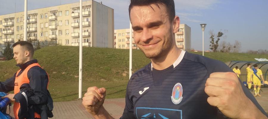 Bartosz Nosowicz, kapitan i specjalista od zdobywania goli w końcowych minutach