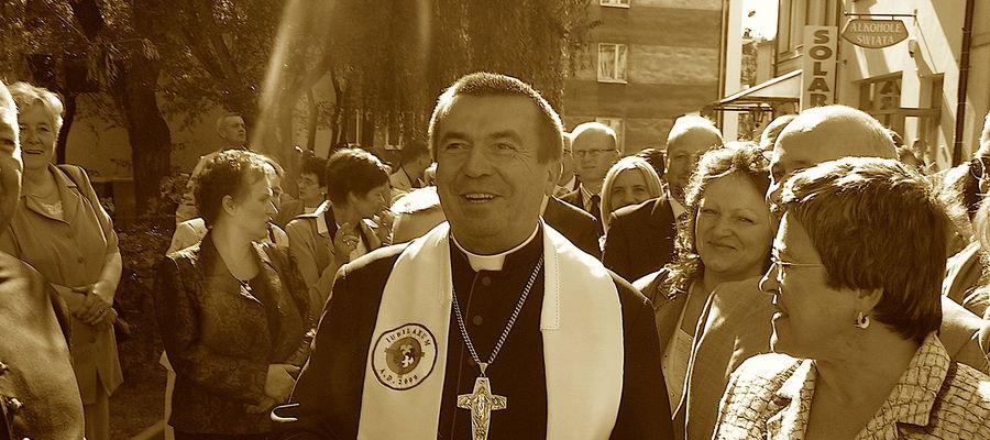 Biskup Polowy Wojska Polskiego Tadeusz Płoski w Lidzbarku Warmińskim