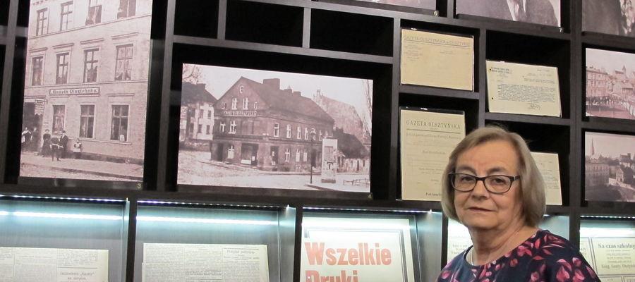 """Radosława Pieniężna-Grabowska z Zielonej Góry. Na zdjęciu w Domu """"Gazety Olsztyńskiej"""" na Targu Rybnym w Olsztynie"""