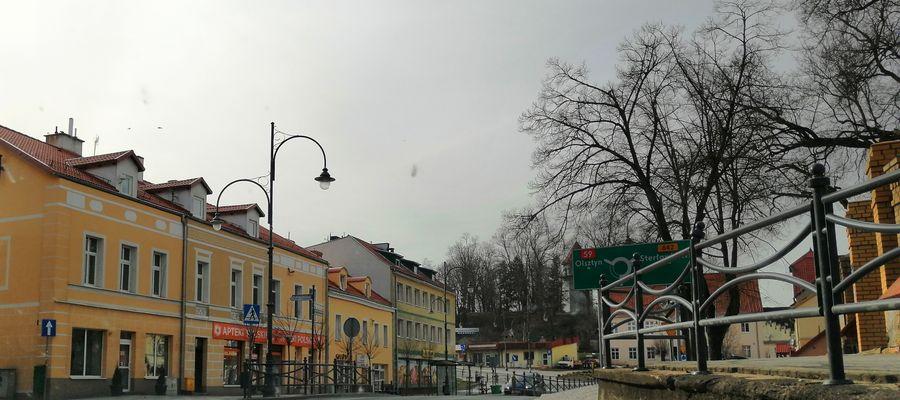 Kamieniczki w centrum Rynu