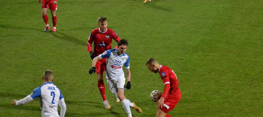 Piłkarze Sokoła powalczą dzisiaj o drugie wiosenne zwycięstwo na własnym stadionie