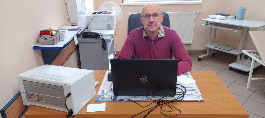 Znany kardiolog dr nauk med. Jacek Janczak przyjmuje teraz w Przychodni Nr 1