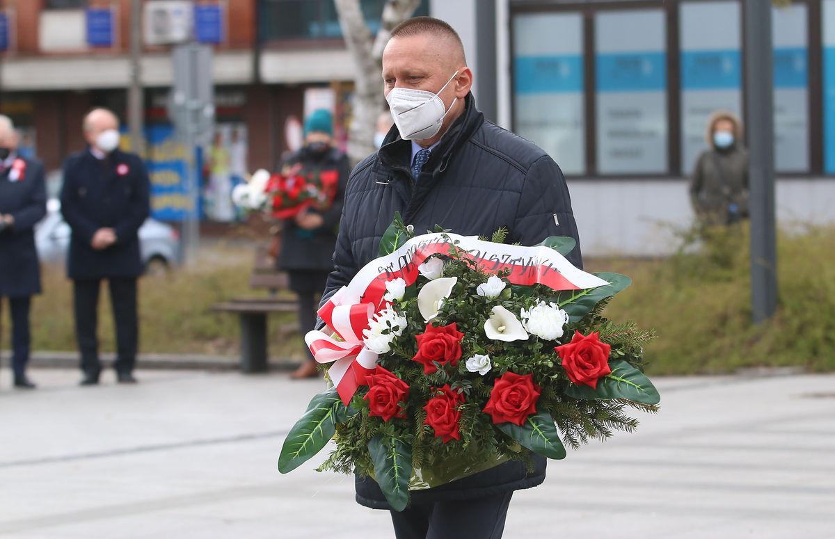 Andrzej Abako, starosta olsztyński.