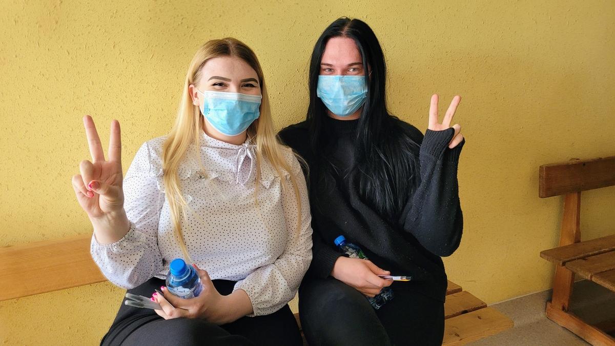 Kinga Rynkiewicz i Kacper Pałucki