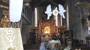 Po uroczystościach komunijnych przyszedł czas na kolędy, tym razem w kościele