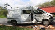 Śmierć na drodze. Zginął 72-letni kierowca toyoty