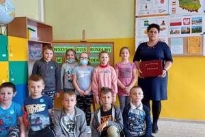 Pasowanie na Czytelnika w Szkole Podstawowej w Żydowie