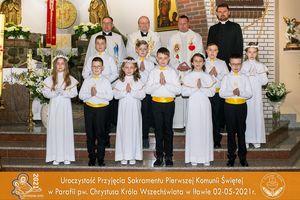 Zobacz zdjęcia komunijne z Iławy i Karasia