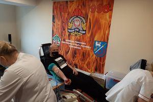 PSP w Braniewie: Kolejna udana akcja poboru krwi [ZDJĘCIA]