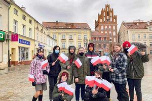 Harcerska gra patriotyczna w Bartoszycach