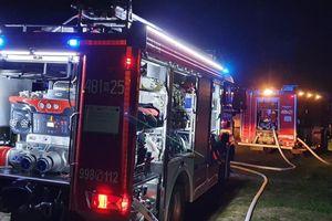 Pożar w koniewskiej elektrowni