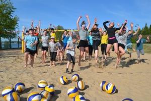 Treningi siatkówki plażowej rozpoczęte — przed Zrywem nowy sezon