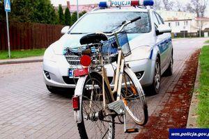 Potrącenie rowerzysty na ulicy Kilińskiego