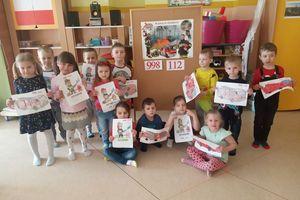 Dzień Strażaka w Przedszkolu Miejskim