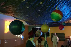 Miniplanetarium w nowomiejskiej Szkole Podstawowej nr 2