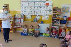 Jak w Przedszkolu Miejskim obchodzono Dzień Pielęgniarek