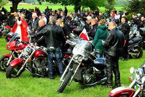 Zlot motocyklowy przed wardęgowskim odpustem