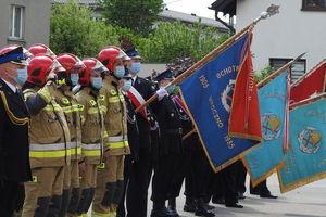 Strażackie święto z awansami i wręczeniem oznaczeń