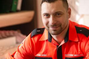 Daniel Rożko, Zastępca Koordynatora Ratowników Medycznych Szpitala Powiatowego w Bartoszycach
