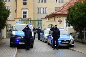 Oleccy policjanci pożegnali swojego kolegę z Raciborza