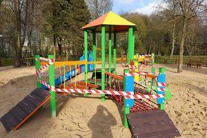 Nowe zabawki w Parku Gregoroviusa