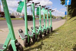 Jaki jest problem z hulajnogami elektrycznymi w Olsztynie?
