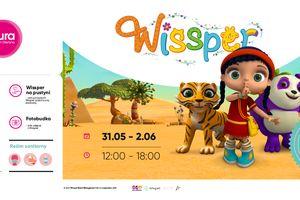 Dzień Dziecka z Wissper w Aurze Centrum Olsztyna
