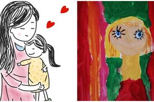 Narysuj swoją Mamę z okazji jej święta