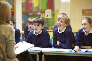 Po miesiącach nauki zdalnej uczniowie znowu wrócili do szkół