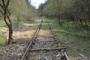 Kradną tory kolejowe