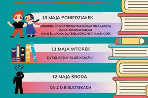 Tydzień Bibliotek w Miejskiej Bibliotece Publicznej w Lidzbarku Warmińskim