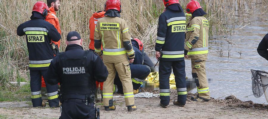 W wodzie utonął najprawdopodobniej kilkudziesięcioletni mężczyzna