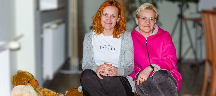 Małgorzata Dekert i Joanna Krejer w pracę z rodzinami zastępczymi wkładają całe serce