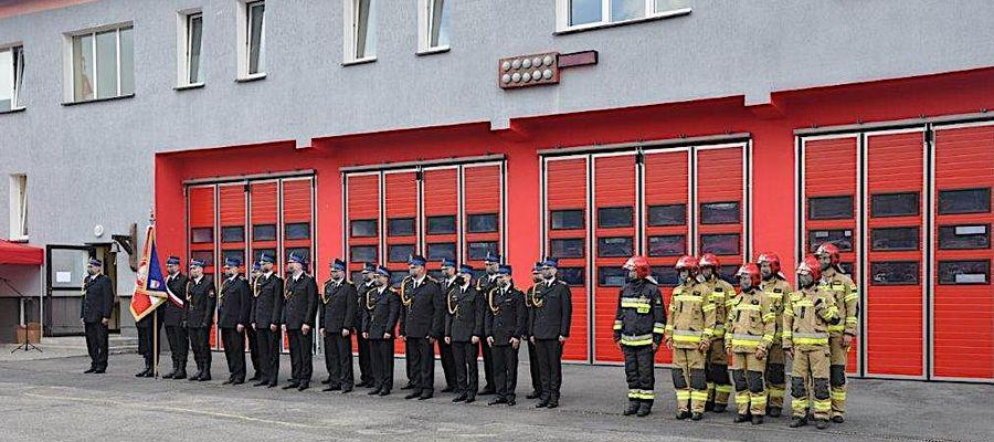 Uroczystości z okazji Dnia Strażaka w Lidzbarku Warmińskim