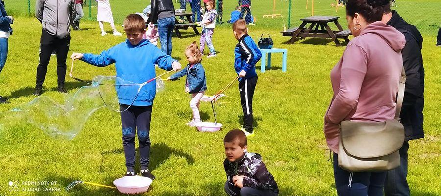 Działacze Tęczy Miłomłyn przygotowali wiele atrakcji dla dzieci