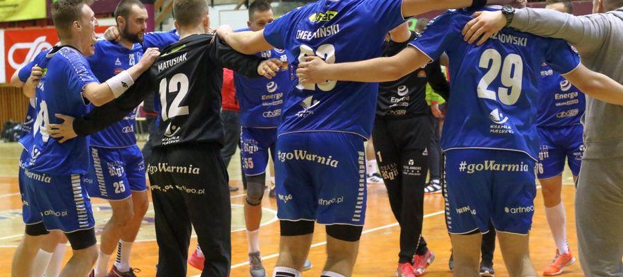 Olsztyńscy kibice mają nadzieję, że tak będą wyglądały pierwsze chwile Warmii Energi po sobotnim meczu z wiceliderem