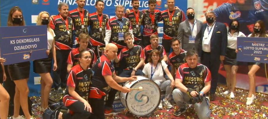 Dekorglass Działdowo nareszcie doczekał się tego, o co walczył od ładnych paru lat: złota drużynowych mistrzostw Polski!