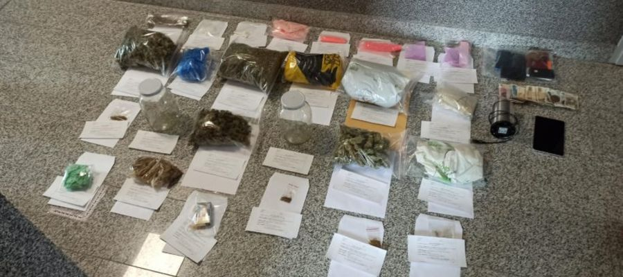 Narkotyki zatrzymane przez policjantów z KPP Bartoszyce