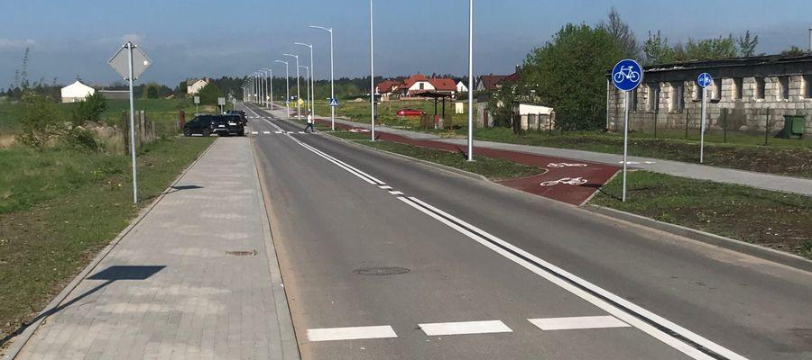 Koniec prac na ulicy Olsztyńskiej w Ełku Osadzie