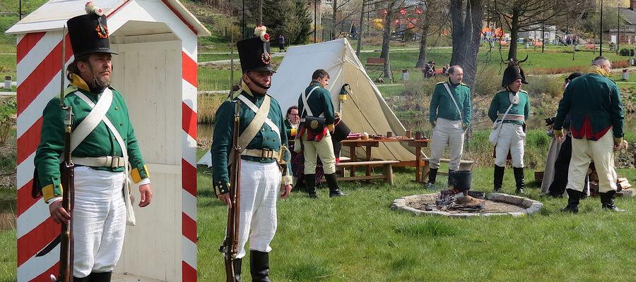 200. rocznica śmierci Napoleona Bonaparte była przyczyną imprezy w Lidzbarku Warmińskim
