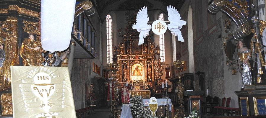 W nowomiejskim kościele były uroczystości komunijne, a od dziś rozpoczęły się msze kolędowe