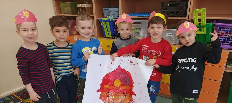 Dzień Strażaka w nowomiejskim przedszkolu