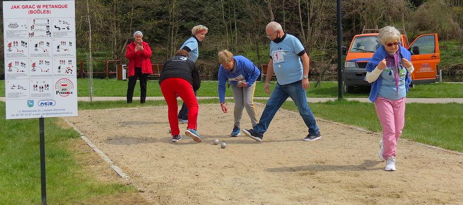 W sobotę odbył się pierwszy lidzbarski turniej w bule