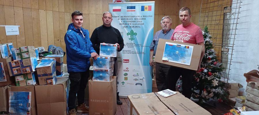 Dary trafiły nie tylko do mołdawskiej Polonii, ale również do Domu Polskiego w Suczawie (Rumunia)