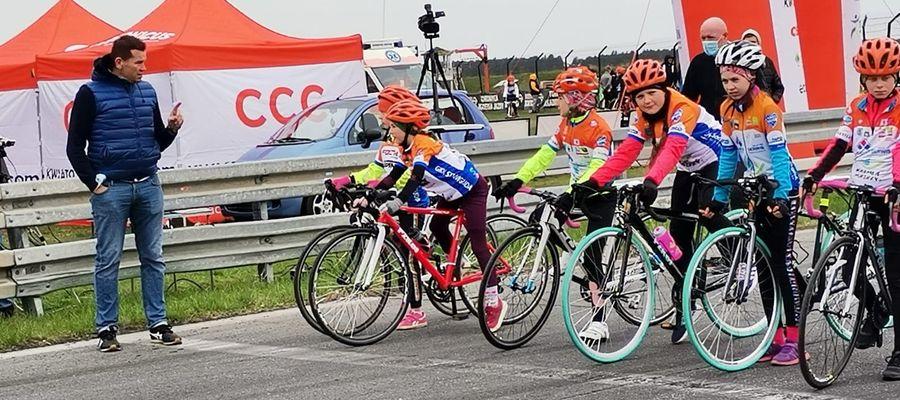 Pierwsze zawody nidzickich kolarzy