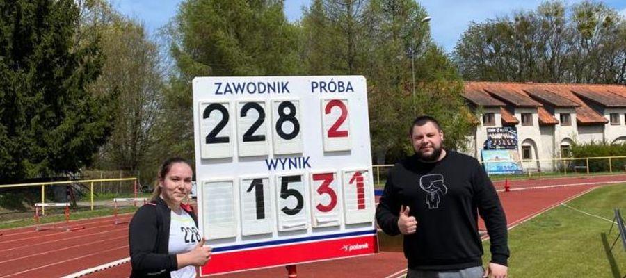 Bardzo dobry start Joanny Marszelewskiej, nowomiejskiej lekkoatletki