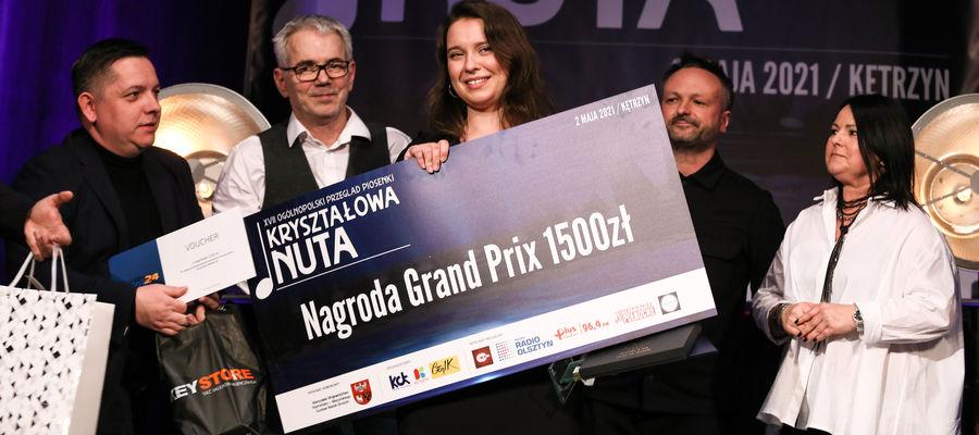 Nagroda Grand Prix trafiła do Iryny Ilchyshyn z Giżycka