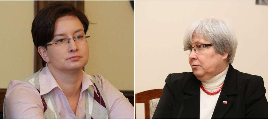 Monika Falej i Bogusława Orzechowska