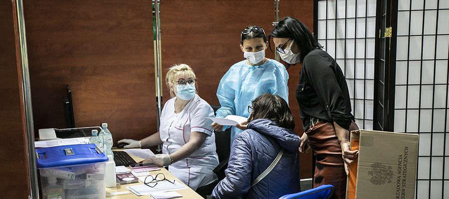 Pierwszego dnia w obiekcie zaszczepi się 240 osób